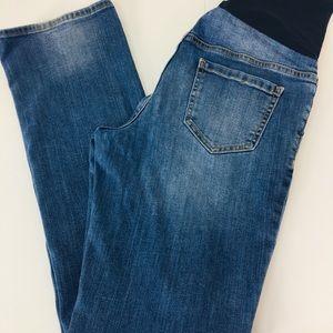 Liz Lange Maternity Bootcut Jeans size 8